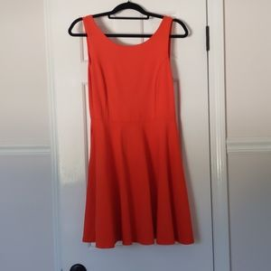 LuLu swing dress with POCKETS and swoop back